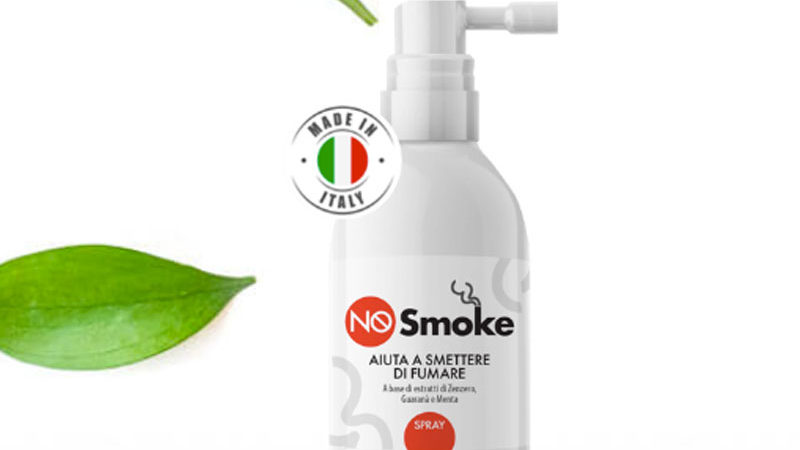 No Smoke Spray: addio sigaretta? Come funziona e opinioni dei clienti