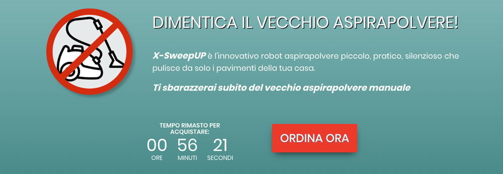 x sweep up acquista
