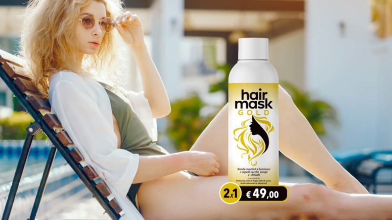Recensione di Hair Gold Mask: innovativa maschera per capelli [Opinioni, prezzo e testimonianze]