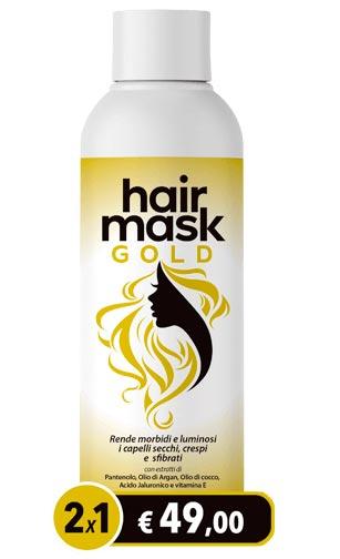 maschera Hair Mask Gold